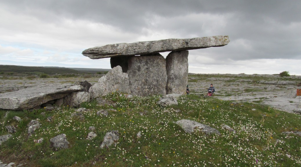 "Portal tombs like Poulnabrone, although they pre-dated the coming of the Celts by thousands of years, were commonly known as ""Druids'altars"" in the 19th-century"