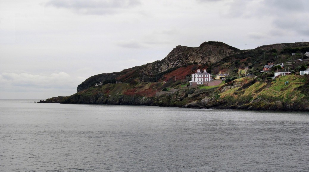 Kilrock, seen from Howth Harbour