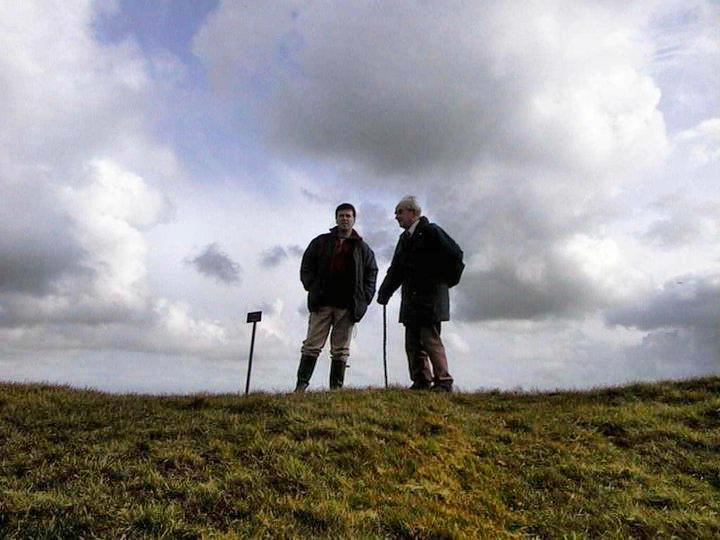 With Leslie at the Hill of Tara