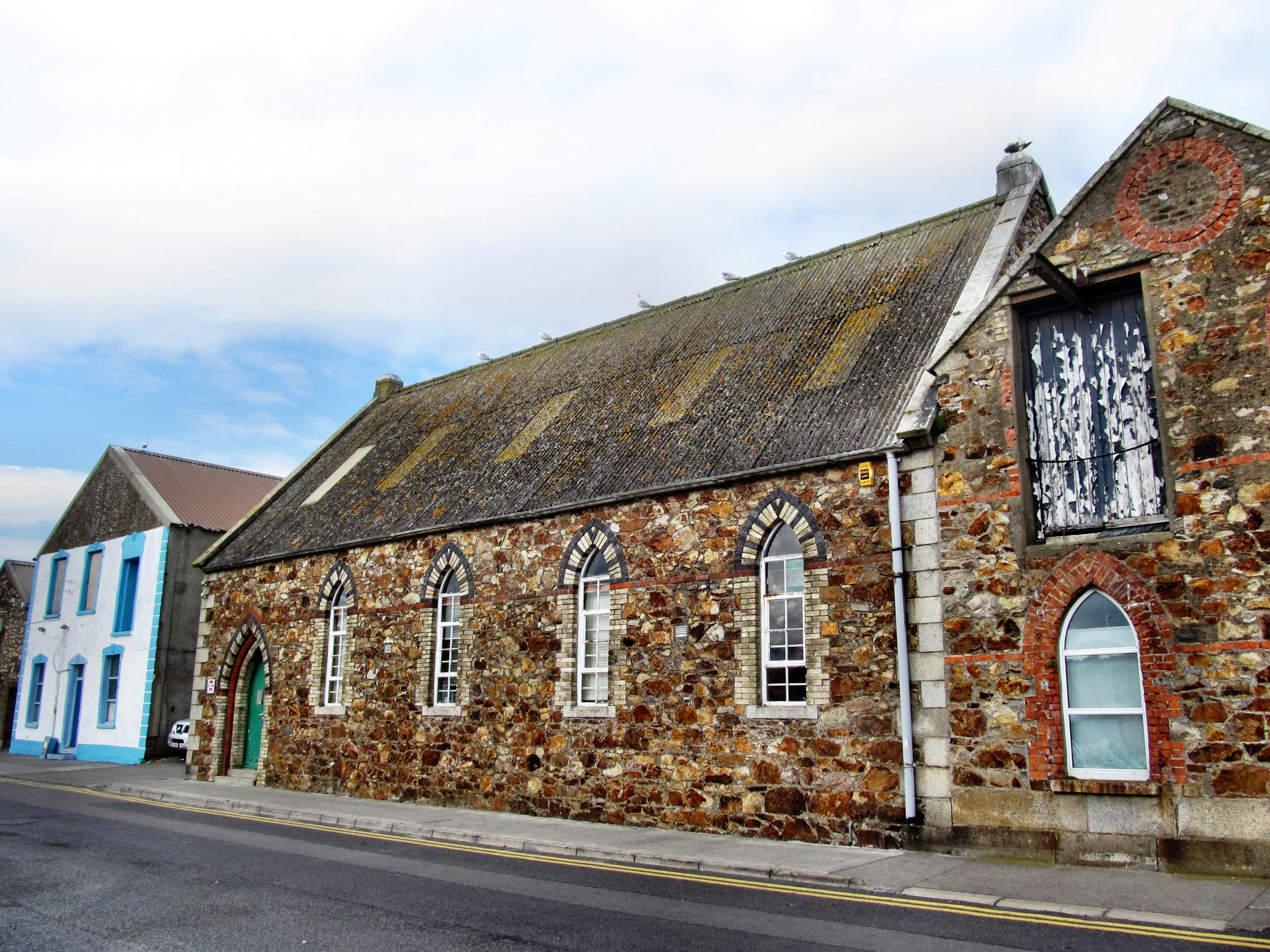 "The Mariners Hall, where, in the mid-19th century, Presbyterian services were held for the mainly Scottish ""herring lasses"" and fishermen"